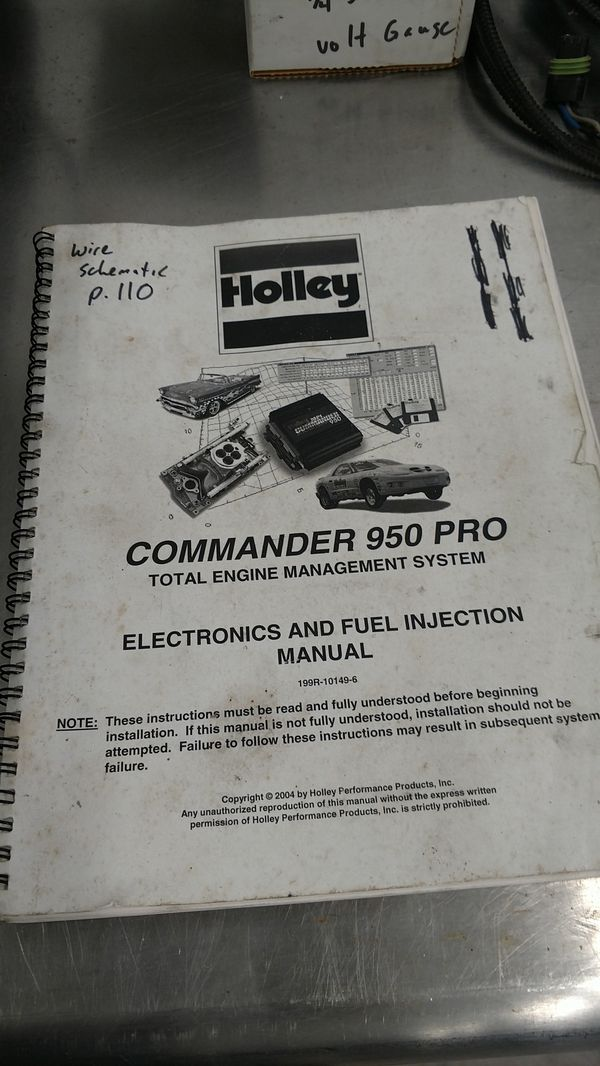 Holley EFI Edelbrock Multiport injection kit, with laptop and tuner  software for Sale in Tampa, FL - OfferUp