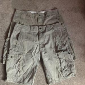 Levi Men's' shorts (2 pair) Size 34 for Sale in Joliet, IL