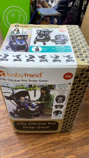 Baby trend stroller and car seat new in box for Sale in Irving, TX