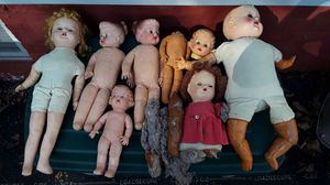 Dolls 1940s or earlier. 3.00 to 14.00 for Sale in Chicago, IL