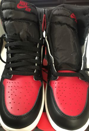AIR JORDAN 1 BRED TOES for Sale in Seattle, WA