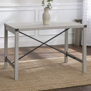 *Brand New* Walker Edison Modern Industrial Farmhouse Wood and Metal Table for Sale in Dublin, OH