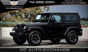 2017 Jeep Wrangler for Sale in Fullerton, CA