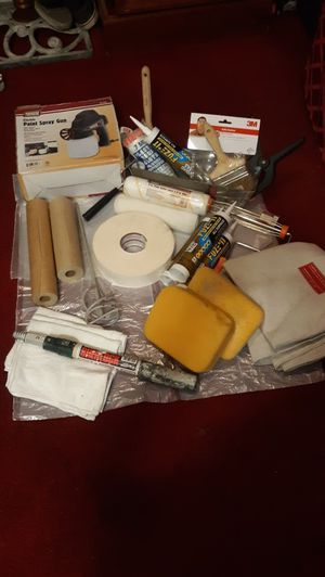 Painting supplies and Assorted items for Sale in La Puente, CA