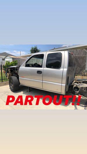 Chevy Silverado GMC Sierra PARTOUT!! for Sale in La Mirada, CA