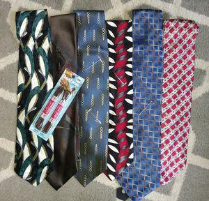 6 Vintage Designer Silk Ties - Bellissimo! for Sale in Southgate, MI