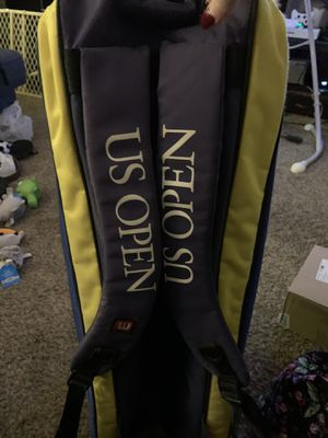 US Open tennis bag and rackets for Sale in Canton, GA