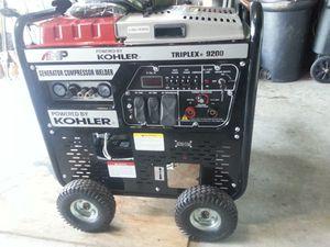 Kohker Triplex 8200 Generator, welder $ compressor for Sale in Santa Rosa Beach, FL