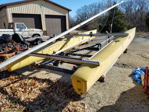 18ft Solcat catamaran for Sale in Union, MO