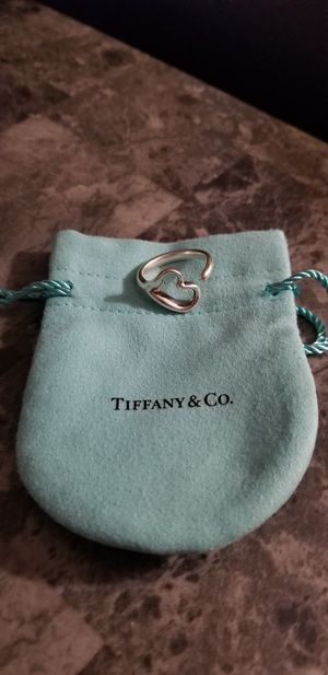 Tiffany & Co. Open Heart Ring for Sale in San Diego, CA