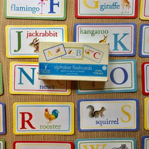 Set of alphabet flash cards by pottery barn kids. Early 1990s illustrations for Sale in Pasadena, CA