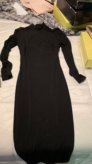 Fitted black dress M for Sale in Long Beach, CA