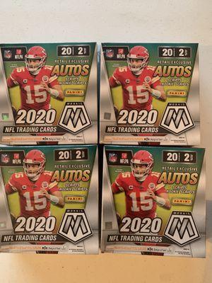 2020 Panini Mosaic Football Mega Box Lot Of 4 Sealed NEW for Sale in Las Vegas, NV