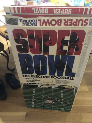 Electric NFL Superbowl Game Set with Teams Pieces for Sale in Washington, DC