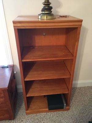 Bookshelves solid wood for Sale in Gibsonville, NC