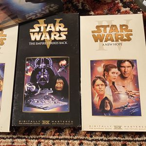 VHS Star Wars Movies for Sale in Chandler, AZ