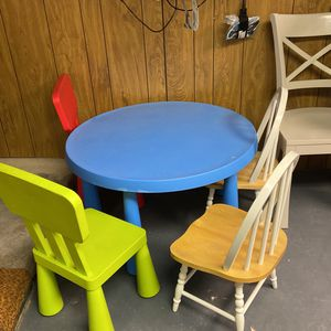 IKEA Kids Table And 4 Chairs for Sale in Elkins Park, PA