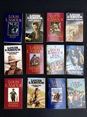 Louis L'Amour Books for Sale in North Richland Hills, TX