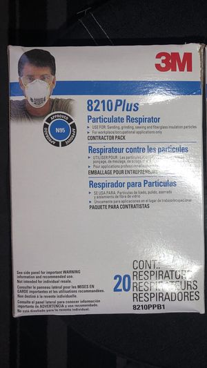 20 - 3M N95 Respirator Mask - Face Mask for Sale in Chicago, IL