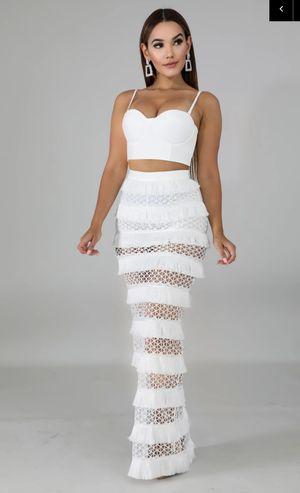 Swing fringe Maxi Skirt Set for Sale in Miami, FL