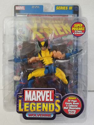 WOLVERINE Marvel Legends Toy Biz action figure NEW for Sale in Covina, CA