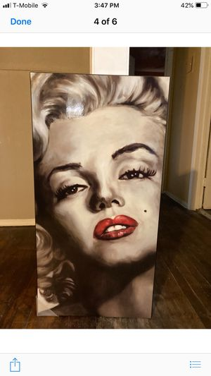 Marlyn Monroe' picture frame for Sale in San Antonio, TX