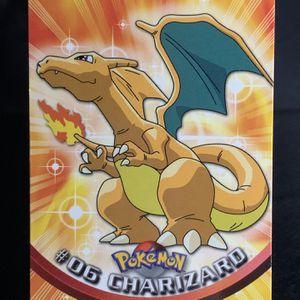 Pokémon Card | CHARIZARD | Topps | #06 | Non HOLO Rare | NM | for Sale in Poulsbo, WA