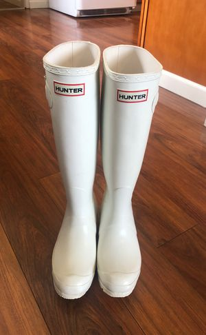 White hunter boots for Sale in Puyallup, WA