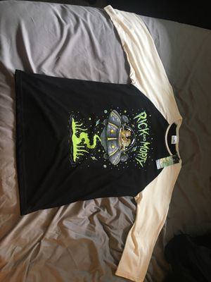 Rick and Morty baseball tee, never worn for Sale in Federal Way, WA