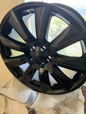 Brand new 20 inch rims no scratches or scuffs for Sale in Salinas, CA