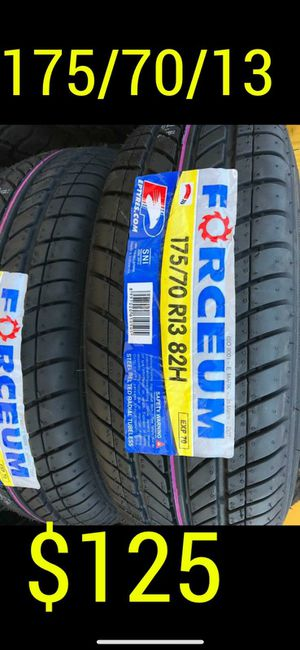 New set of tires Brand new set of for Sale in Goodyear, AZ