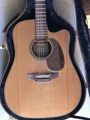 TAKAMINE P3DC-12 WITH HARD CASE for Sale in Eastvale, CA