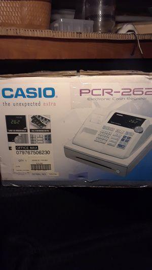 Casio cash register pcr-262 for Sale in Cincinnati, OH