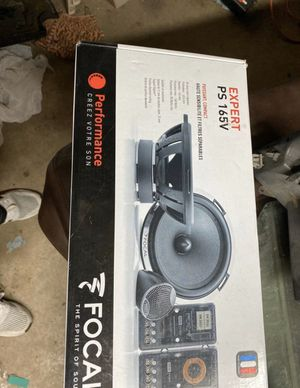 """Focal Expert ps 165v 6.5"""" component system for Sale in Fort Worth, TX"""