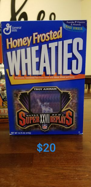 Collector's Edition Wheaties Boxes for Sale in Surprise, AZ