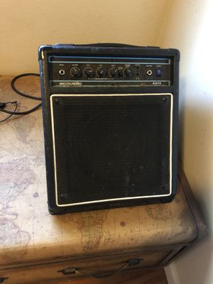 Acoustic amp for Sale in Carmichael, CA