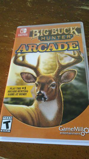 Big Buck Hunter Arcade Nintendo Switch for Sale in Elizabeth, PA