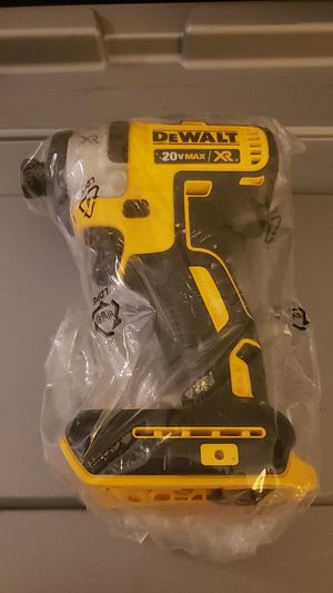 20-Volt MAX XR Lithium-Ion Cordless Brushless 3-Speed 1/4 in. Impact Driver (Tool-Only) for Sale in Riverside, CA