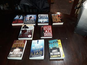 9 James Patterson Books for Sale in Weymouth, MA