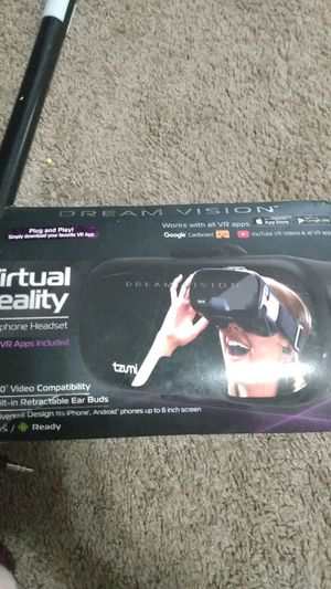 Dream vision virtual reality smartphone headset for Sale in Fort Smith, AR