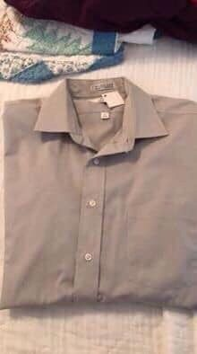 Men's Long Sleeve Shirt-Van Heusen-Large for Sale in Mobile, AL