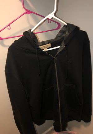 LONDON,ENGLAND XL Men's Black Burberry hoodie for Sale in Takoma Park, MD