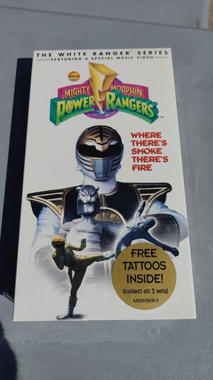 """Power Rangers """"Where there's Smoke There's Fire"""" VHS Tape for Sale in Lombard, IL"""