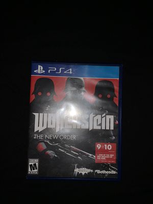 Wolfenstein PS4 for Sale in Perris, CA