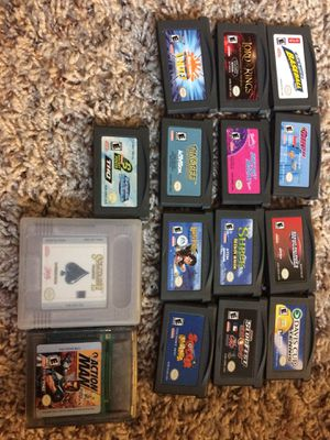 Nintendo Gameboy Advance Games for Sale in Enumclaw, WA