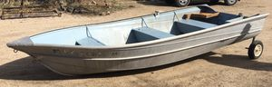 1974 Valco 14' Aluminum Fishing Boat and Dock wheels for Sale in Chino Hills, CA