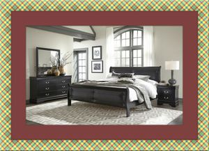 11pc black Marley bedroom set free delivery for Sale in Crofton, MD