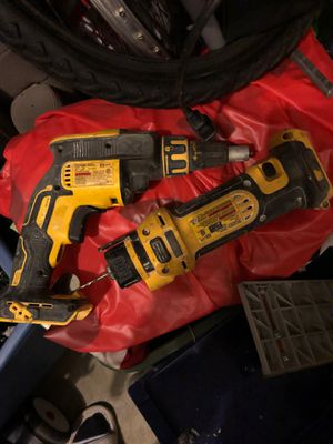 Dewalt cordless drywall gun and router for Sale in New Lenox, IL