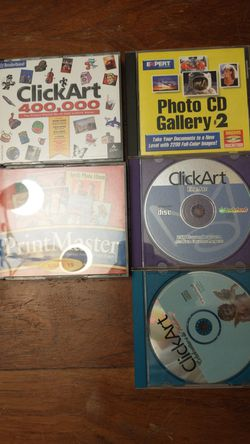 Lot of early 2000's digital art and photo editing software for Sale in Estacada,  OR