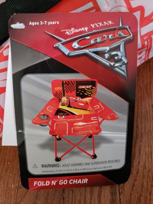 "Disney Cars ""Fold N' Go"" Chair (kids) for Sale in Sterling, VA"
